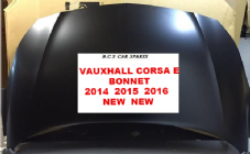 VAUXHALL CORSA  E   BONNET   NEW    2016  ( insurance Approved )